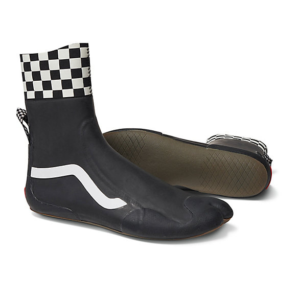 Checkerboard Surf Boot Hi