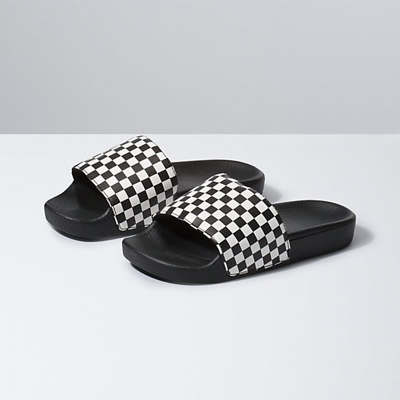 Kids Checkerboard Slide-On Jr