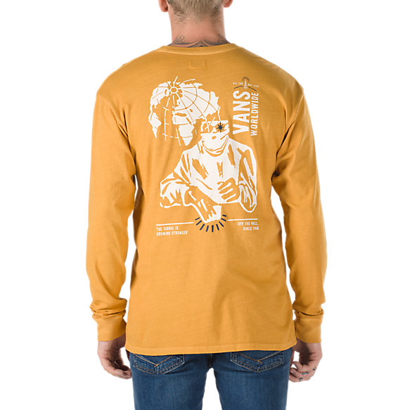 Wifi Death Long Sleeve T-Shirt | Shop Mens Tees At Vans