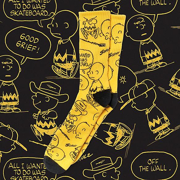 77d9ceeb9f Vans x Peanuts Crew Sock