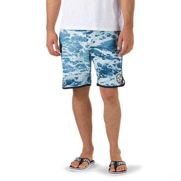 488f1826b1 Mixed Scallop Boardshort | Shop Boardshorts At Vans