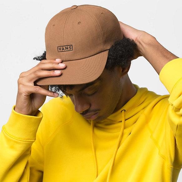 137337cc8c58ad Vans Curved Bill Jockey Hat   Shop Mens Hats At Vans
