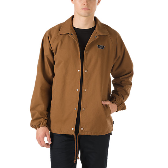 Torrey Twill Coaches Jacket Shop Jackets At Vans
