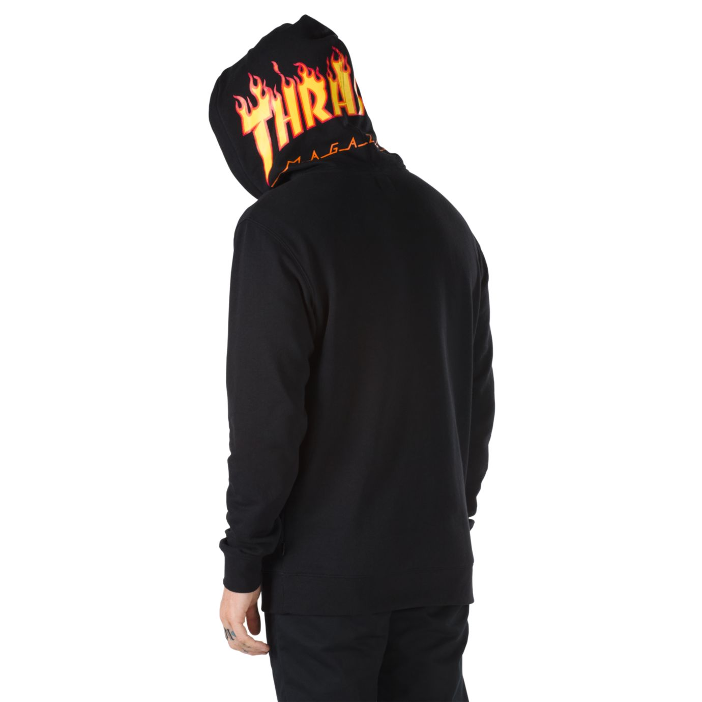 c7328207b2 Vans Commemorates Thrasher Magazine s Iconic Flame Motif