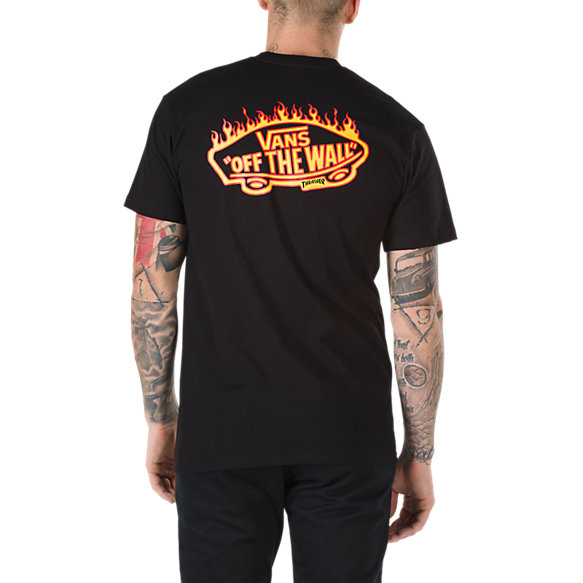vans x thrasher pocket t shirt vans ca store. Black Bedroom Furniture Sets. Home Design Ideas