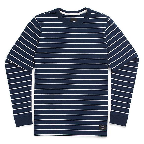 Boys Milton Stripe Long Sleeve T Shirt Shop At Vans
