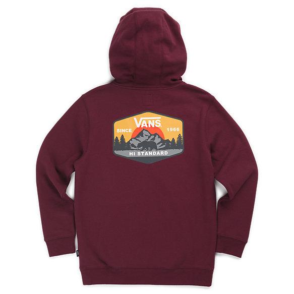 Boys MTN Hi Standard Pullover Hoodie | Shop Boys Sweatshirts At Vans