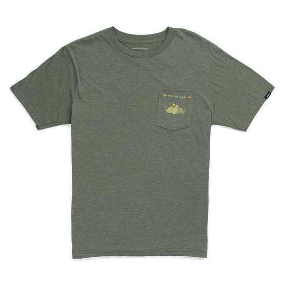 Boys Blazing Path Pocket T-Shirt