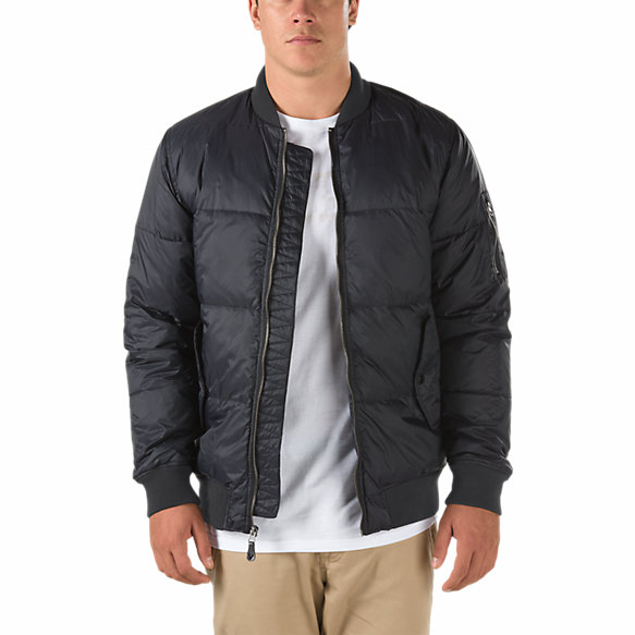 Strahorn Quilted Bomber Jacket