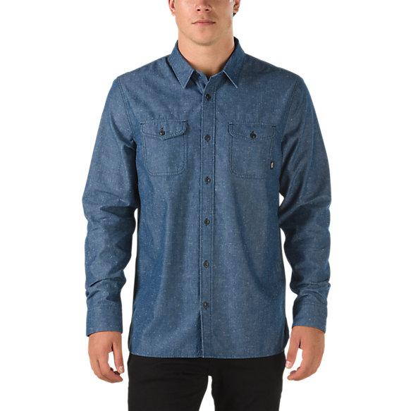 Humphrey chambray shirt shop mens shirts at vans for Chambray shirt for kids