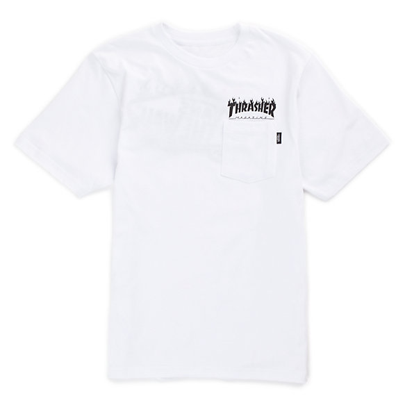 bb795af4d2 Boys Vans x Thrasher Pocket T-Shirt