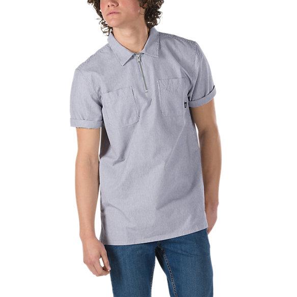 Zip Pullover Shirt | Shop Mens Shirts At Vans