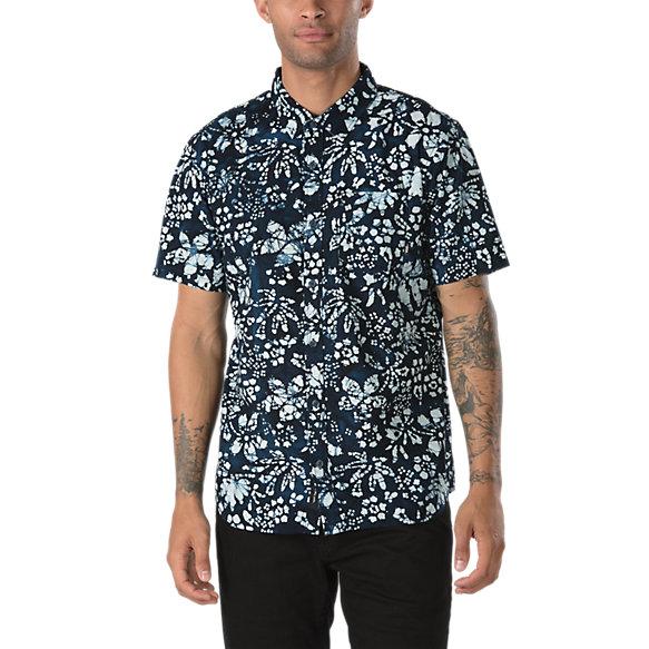 Trippin Batik Buttondown Shirt