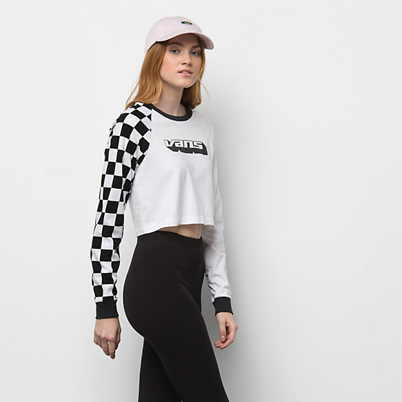 Superspeedee Long Sleeve Crop Raglan