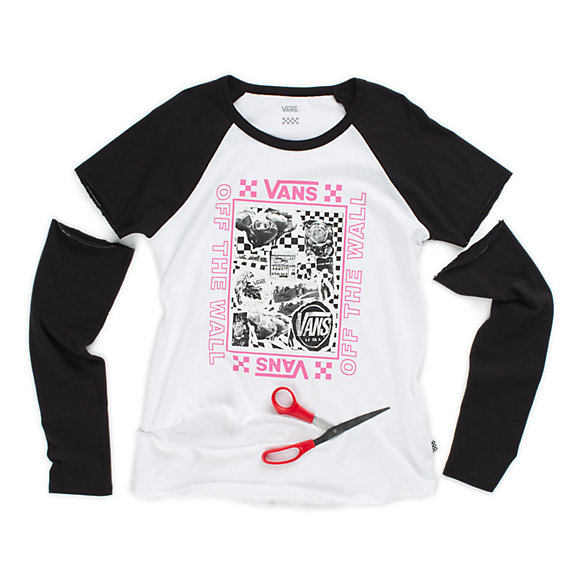 Lady Vans Sting Long Sleeve Raglan DIY