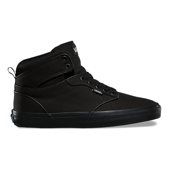 vans atwood black leather mens