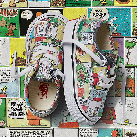 Toddler Vans x Peanuts Authentic