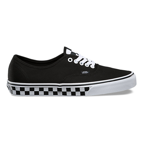 vans authentic tape checker black white nz