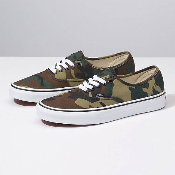 Vans Woodland Authentic At Camo Shop S74zwqA6