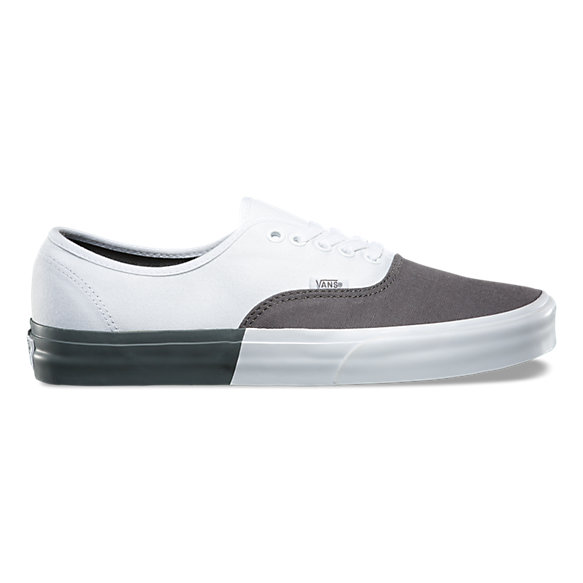 vans authentic white and black