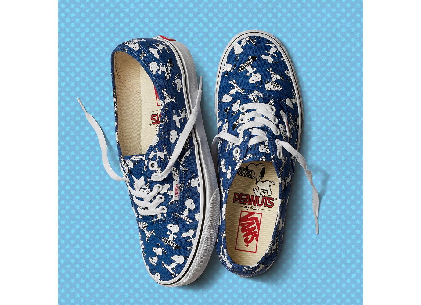 b710de2a23 The Vans x Peanuts Collection