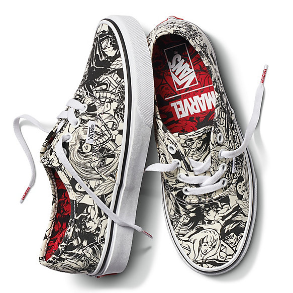 Vans X Marvel Authentic