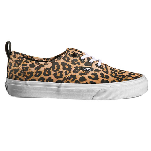 vans authentic leopard black grey nz