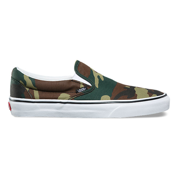 Woodland Camo Slip-On