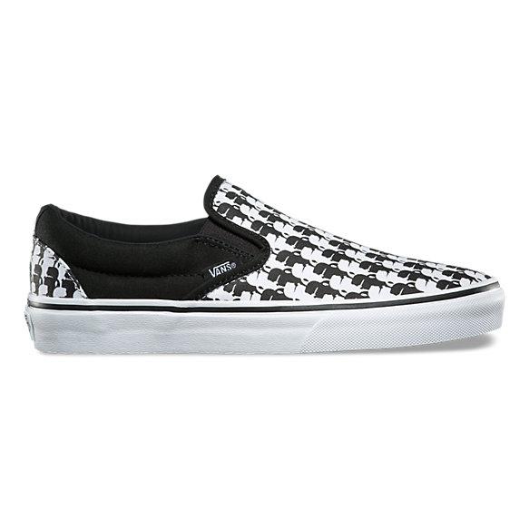 Slip on Sneakers for Women On Sale, Black, Canvas, 2017, 8.5 Karl Lagerfeld