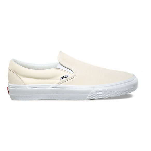 Suede Canvas Slip-On