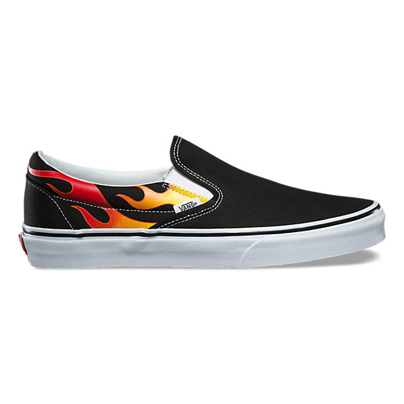 vans flames shoes