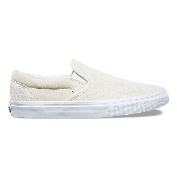 Hairy Suede Slip-On