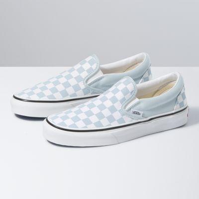 Checkerboard Slip On Shop At Vans
