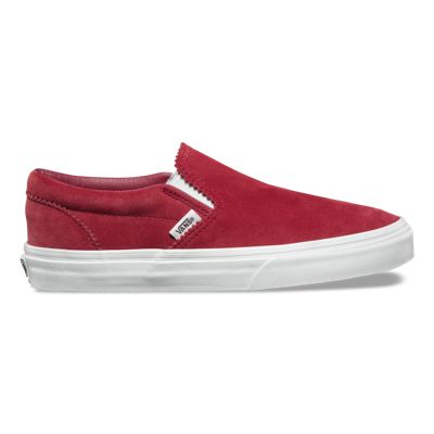 5cc1f9bc33 Pinked Suede Slip-On