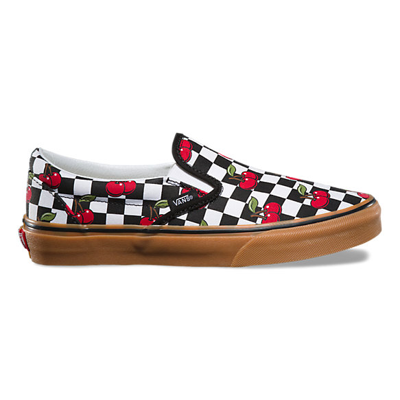 44449e1332b Cherry Checker Slip-On