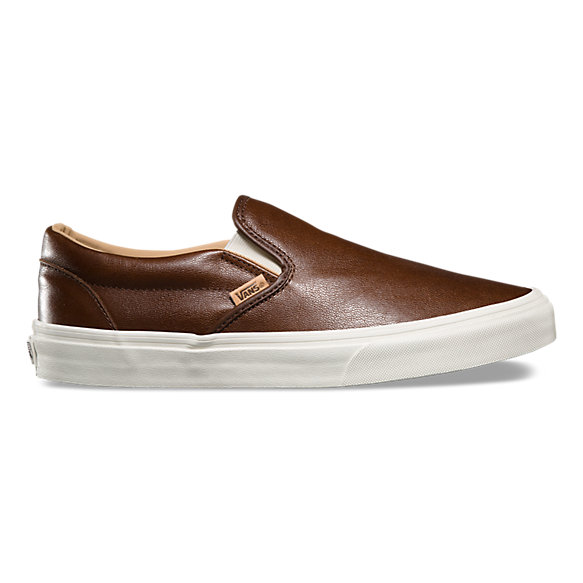 Lux Leather Slip-On