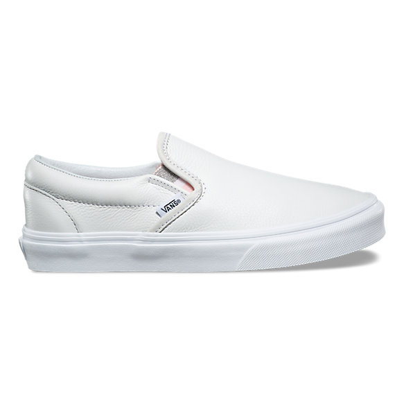 vans slip on nere brillantinate