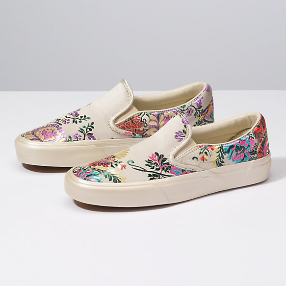 Festival Satin Slip-On