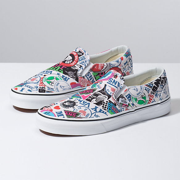 stickers vans skateboard