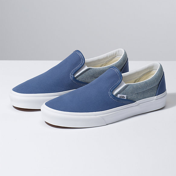 Chambray Slip-On