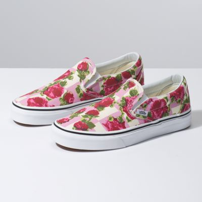 9c9c08c2092 Vans Romantic Floral Slip-On