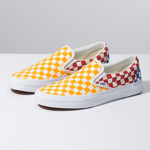 Checkerboard Slip-On | Vans CA Store