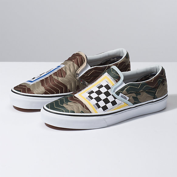 Mixed Quilting Slip-On | Vans CA Store