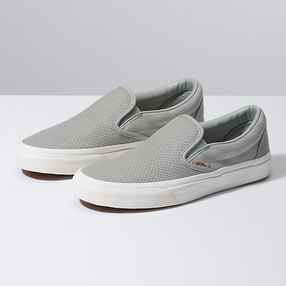 Woven Check Slip-On