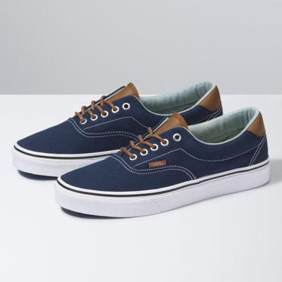 Womens Vans Era 59 - Trainers - White YM88732