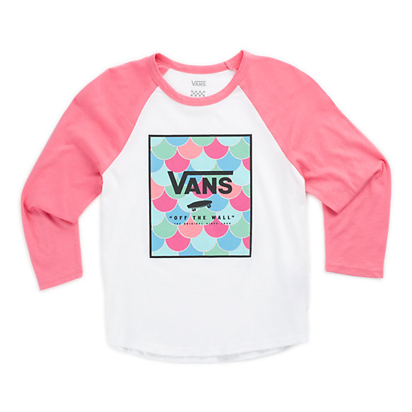 Girls Vansmaid Scales Raglan