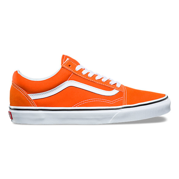 damen vans sneaker old skool california poppy