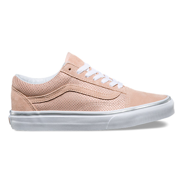 vans old skool rose dots