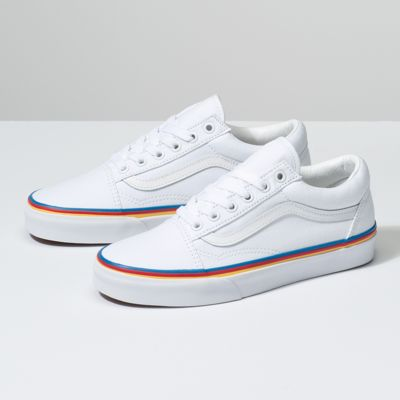 Rainbow Foxing Old Skool Shop Shoes At Vans