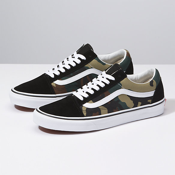 f26e341609 Woodland Camo Old Skool